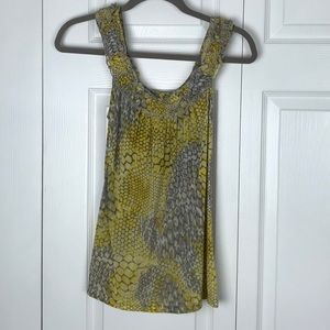 INC International Concepts Ruffle Tank Top Size XS